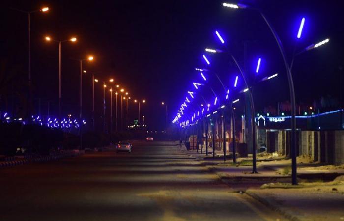 بدء تركيب 500 عمود إنارة لمركز وقرى بلدية الشقيق