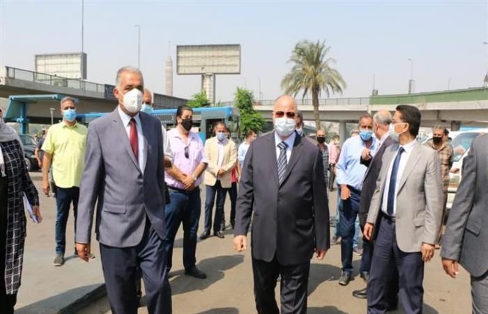 محافظ القاهرة: دخول السيارات موقف عبدالمنعم رياض مرهون بارتداء السائقين والركاب للكمامة