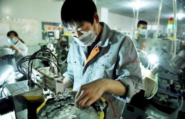 المصانع الصينية تحقق أسرع معدل نمو في 10 سنوات خلال يوليو الماضي