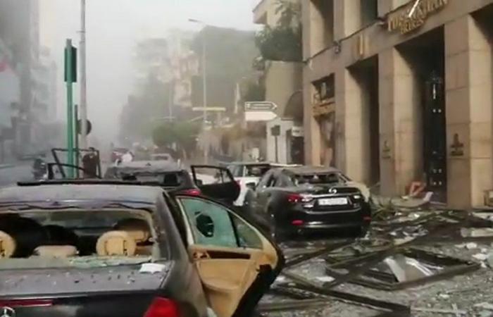 رغم مرور ساعات على وقوعه.. انفجار بيروت لا يزال يحاصر لبنانيين في منازلهم