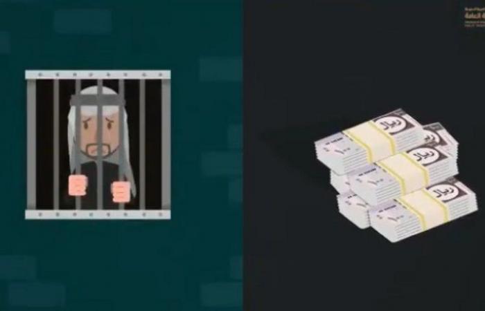 """""""النيابة العامة"""": عقوبة """"الإيذاء"""" السجن مدة تصل إلى سنة وغرامة تبلغ 50 ألف ريال أو بهما معًا"""