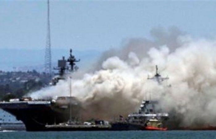 """تضرُّر إحدى السفن التابعة لقوات """"يونيفيل"""" الدولية بسبب انفجار مرفأ بيروت"""