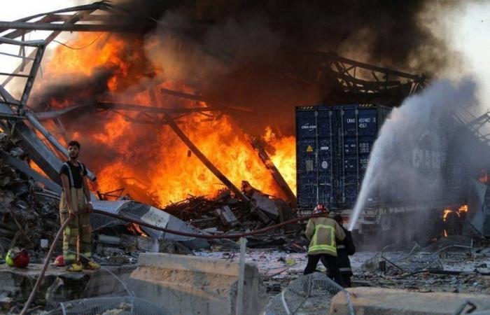 الصليب الأحمر اللبناني: الانفجار خلف أكثر من 100 قتيل و4 آلاف جريح