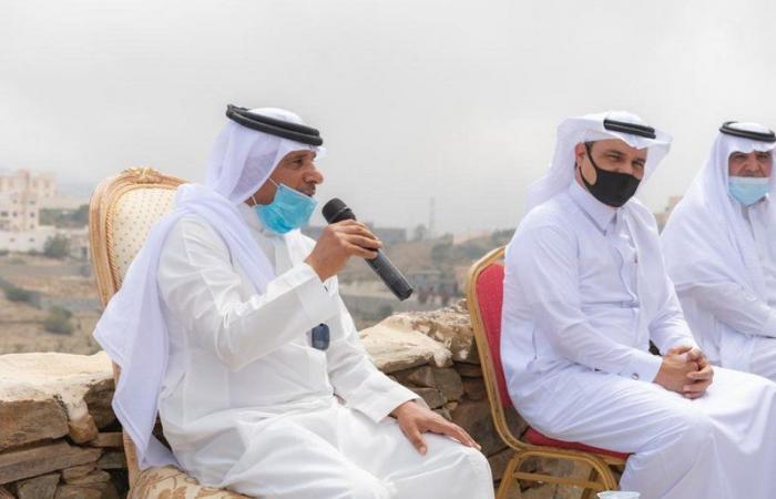"""""""السياري"""" في زيارته لمتحف """"الأخوين"""": أمير الباحة يدعم مثل هذه المشاريع الشبابية"""