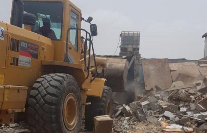 أمانة جدة تُغلق 52 مطبخ ولائم وتزيل 227 حظيرة عشوائية مخالفة