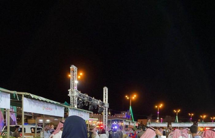 """""""هلال اللحم"""" بالباحة يشارك بمهرجان الرمان وينوه باتخاذ تدابير كورونا"""