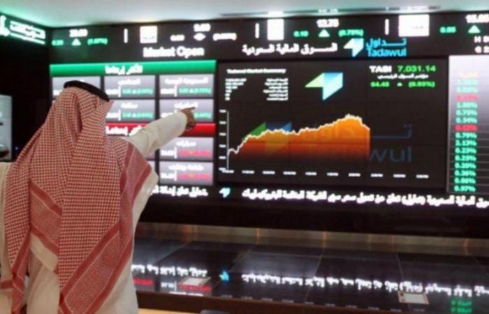 سوق الأسهم يغلق مرتفعاً عند 8364 نقطة