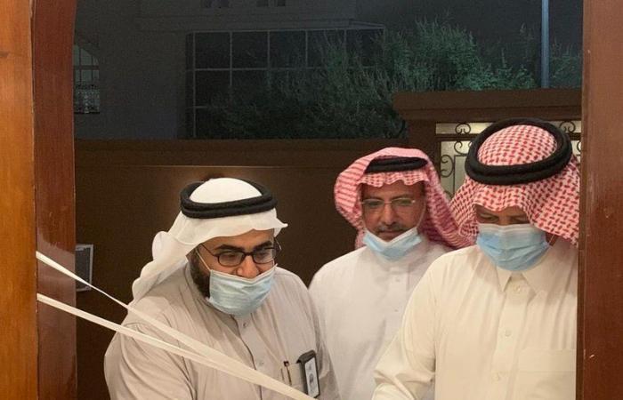 """فهد بن رقوش يفتتح البيت الاجتماعي رقم """"5"""" في جدة"""