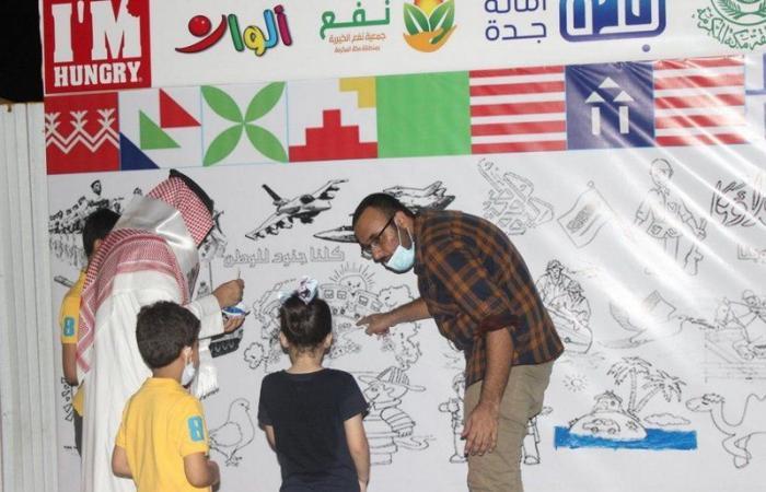 أهالي وزوار جدة يُجسدون مشاعر الفرح باليوم الوطني التسعين