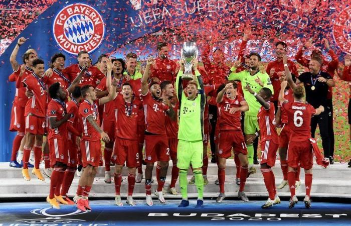 للمرة الثانية في تاريخه .. بايرن ميونيخ بطلاً لكأس السوبر الأوروبي