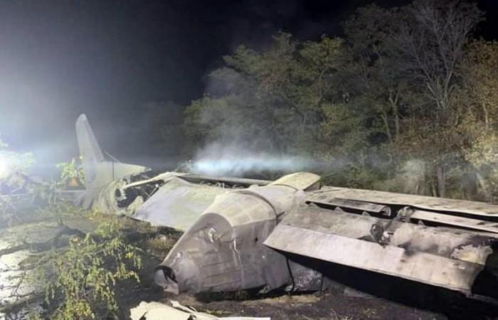 بالفيديو.. تحطم طائرة واحتراقها ومقتل 22 من ركابها في أوكرانيا