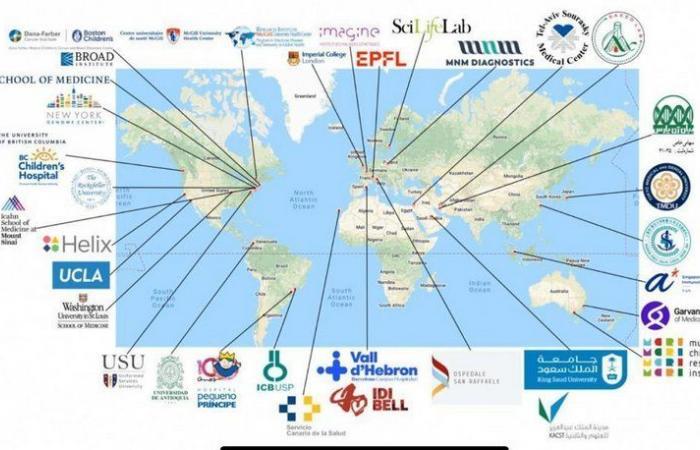 بينها السعودية.. 80 دولة تشارك في بحوث الطفرات الجينية المسببة لكورونا