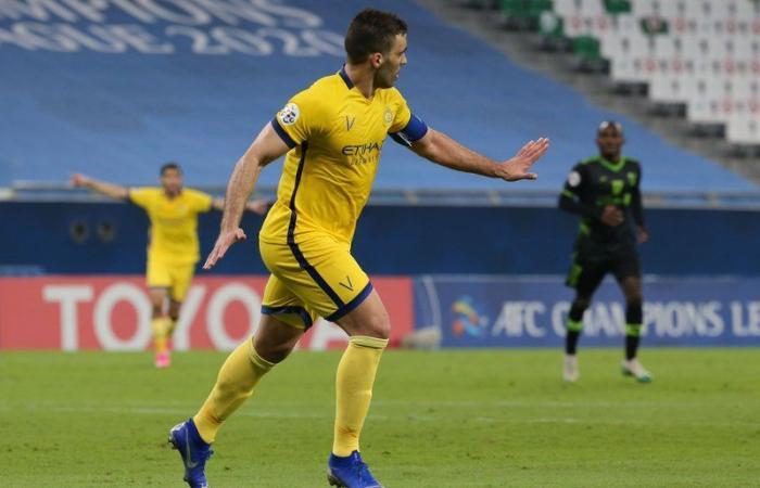 الآسيوي: عبد الرزاق حمدالله رجل مباراة النصر والتعاون