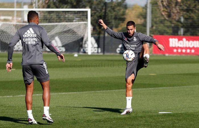 """إلى جانب """"أسينسيو"""".. ريال مدريد يدفع بـ""""هازارد"""" أمام بلد الوليد"""