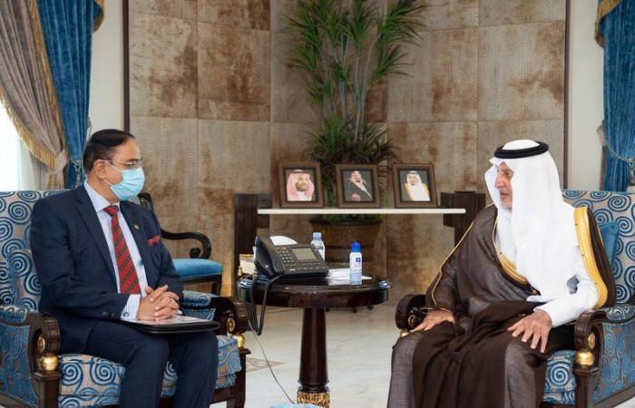 أمير مكة يستقبل سفير بنجلاديش بالمملكة ويستعرض الموضوعات المشتركة