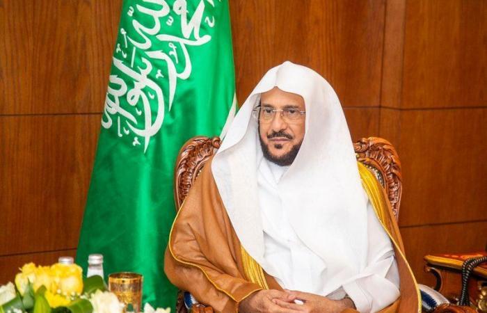 """""""آل الشيخ"""": المواقيت ومرافق الوزارة جاهزة لاستقبال المعتمرين وفق البروتوكولات الصحية"""