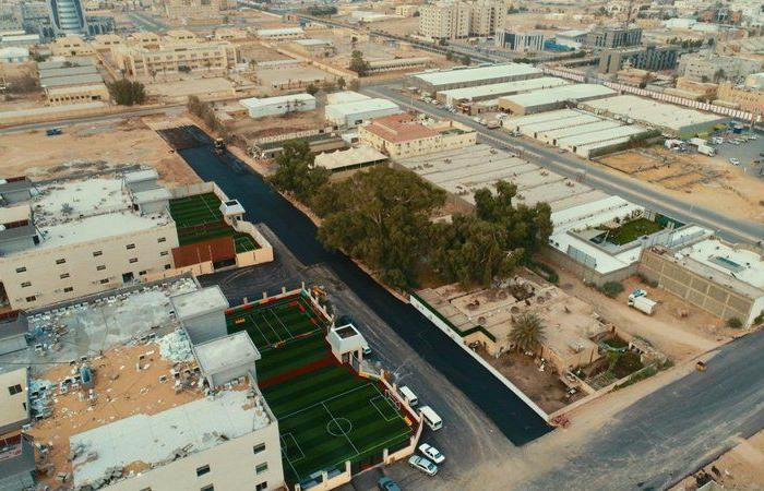 """أبرزها المركز الحضاري .. """"أمانة الجوف"""" تواصل تنفيذ 5 مشروعات إنشائية وتطويرية"""