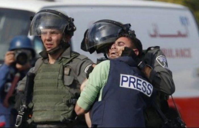 تقرير إعلامي يرصد الانتهاكات الإسرائيلية بحق الصحفيين في شهر سبتمبر