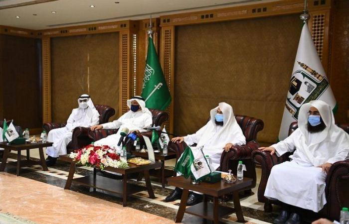 المجلس التنسيقي للجهات العاملة بالمسجد النبوي يبحث آلية استقبال المصلين بالروضة الشريفة