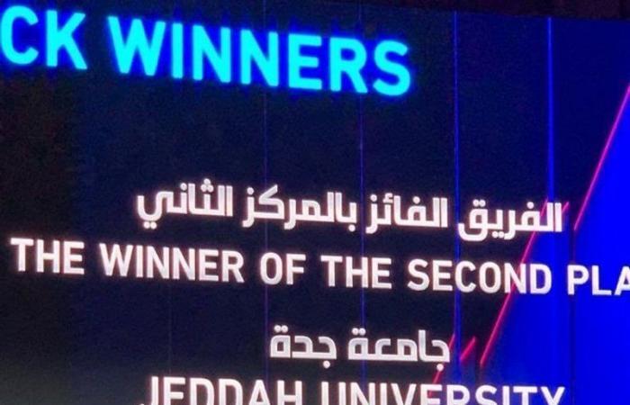 """طلاب """"جامعة جدة"""" يحصدون المركز الثاني في """"تحدي نيوم"""" للذكاء الاصطناعي"""