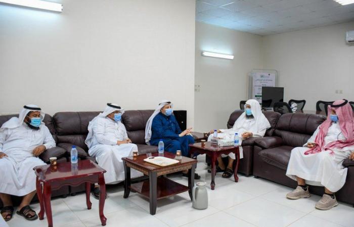 تنمية أبوعريش توزع ألف سلة غذائية على مستفيديها