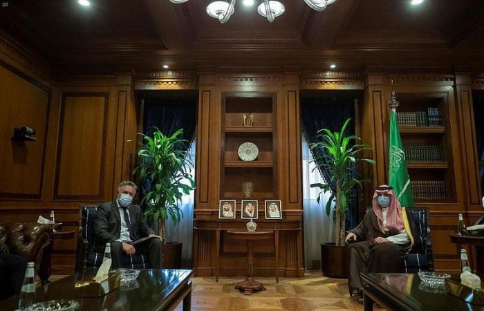 وزير الشؤون الخارجية يستقبل سفير مالطا لدى المملكة