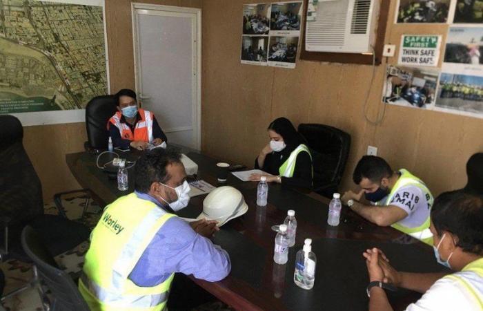 أمانة جدة تنجز 70% من مشروع تصريف الأمطار بنفق السلام