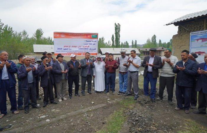 """""""الندوة العالمية"""" تضع حجر أساس مدرسة جديدة في قيرغيزيا"""