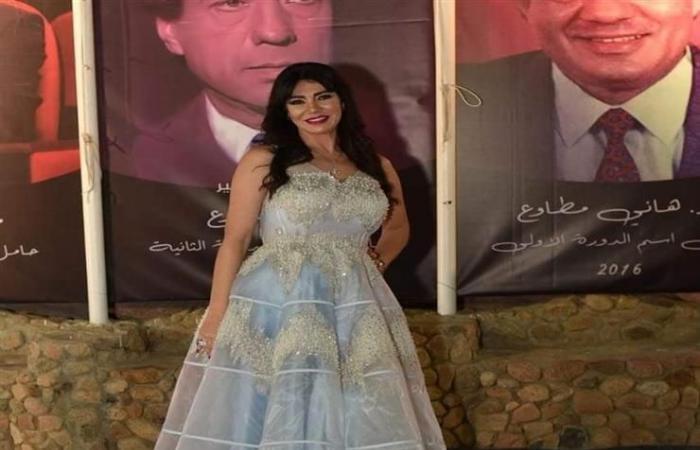 بفستان منفوش..لقاء سويدان تتألق في مهرجان شرم الشيخ