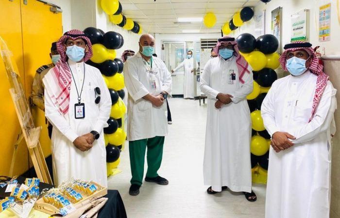 """""""السهلي"""" يطلق فعاليات اليوم العالمي للأشعة بمستشفى صامطة"""