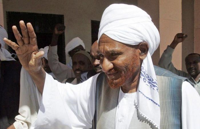 السودان يعلن الحداد 3 أيام على رحيل الصادق المهدي