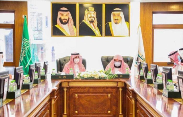 اتفاقية تعاون بين رئاسة الحرمين ودارة الملك عبدالعزيز