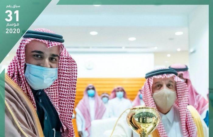 """أمير منطقة الرياض يرعى حفل سباق الفروسية """"كأس الوفاء"""""""