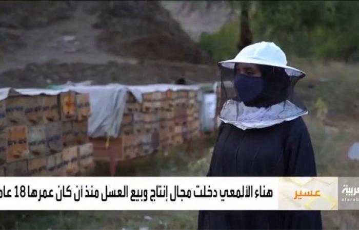 شاهد.. نحّالة سعودية تنتج أكثر من 10 أطنان من عسل السدر سنوياً