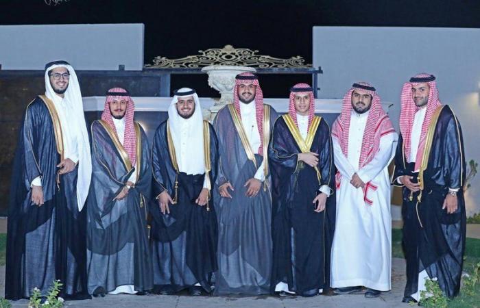 """""""الوهيبي"""" يحتفل بعقد قرانه في الرياض"""