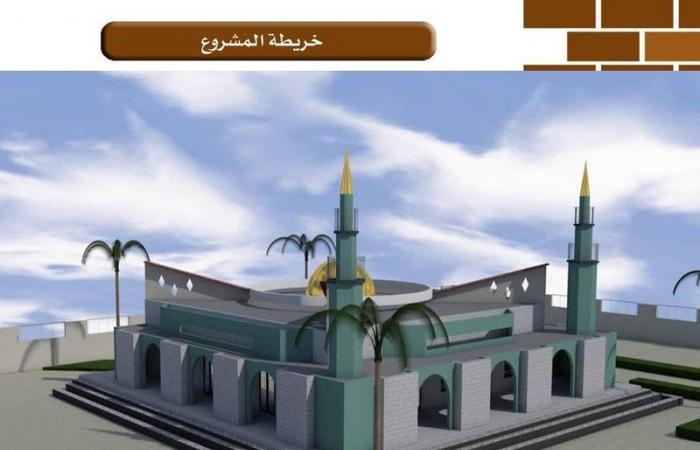 """""""الندوة العالمية"""" تضع حجر الأساس لمسجد كبير بجامعة الملك فيصل بتشاد"""
