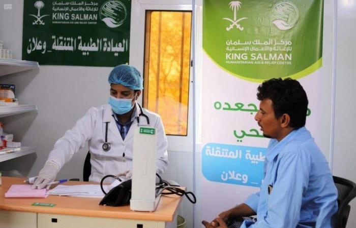 العيادات الطبية المتنقلة في مخيم وعلان بحجة تواصل تقديم خدماتها العلاجية