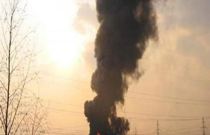 """""""سانا"""": انفجار في الشركة السورية للغاز بحمص .. بالفيديو"""