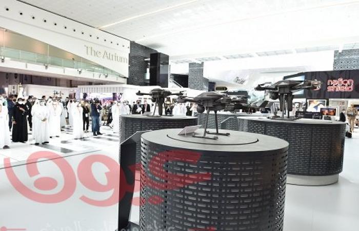 """""""ايدج"""" تطلق أول مجموعة من الأسلحة الإماراتية الحوامة على الأهداف في معرض آيدكس 2021"""