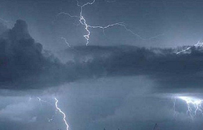 """""""الأرصاد"""": هطول أمطار رعدية على معظم مناطق المملكة"""