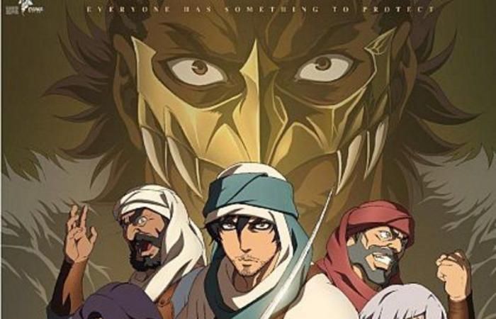"""""""مانجا"""" تطلق الفيديو الترويجي لفيلم الأنيمي السعودي """"الرحلة"""""""