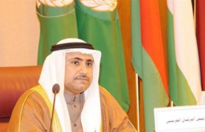 البرلمان العربي يؤكد دعم الحكومة اليمنية للتصدي لانتهاكات الحوثي