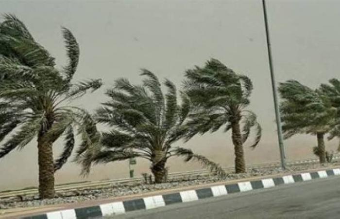 """""""الأرصاد"""": رياح سطحية مثيرة للأتربة والغبار على نجران وعسير والباحة ومكة والمدينة"""