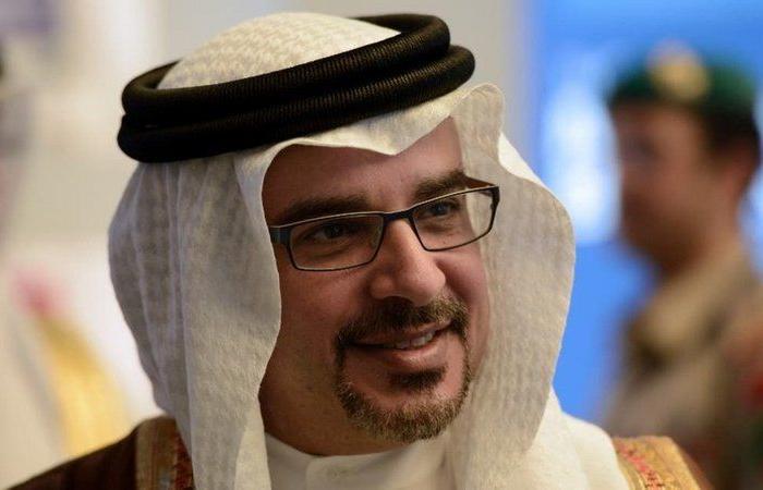 ولي عهد البحرين يغادر الرياض