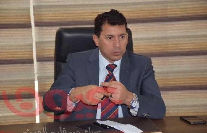 """وزير الشباب والرياضة يستجيب لدعوة شباب كفر """"دمتيوة"""" بالبحيرة لحضور نهائي كأس القرية"""