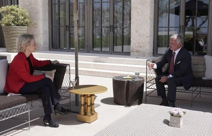 ديرلاين تعرب عن دعم الاتحاد الأوروبي التام للأردن