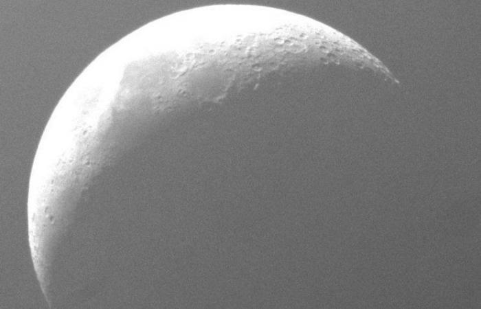 """شاهد.. في ظاهرة ممتعة ودقيقة.. """"مرصد أبوظبي"""" يرصد احتجاب المريخ خلف القمر"""