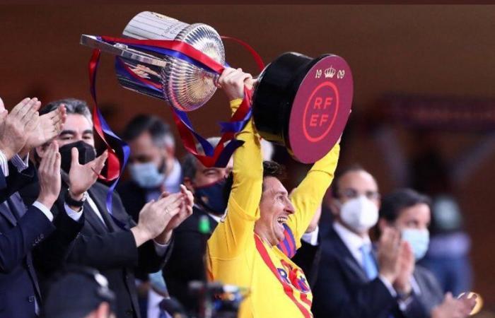 برشلونة يكتسح أتلتيك بيلباو برباعية .. ويتوج بكأس ملك إسبانيا