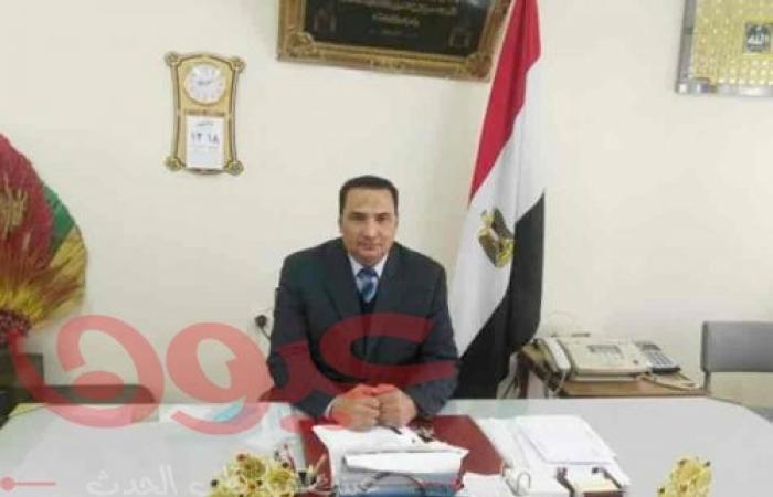 وكيل وزارة الزارعة بدمياط يتفقد شونة كفر سعد أحد مقار أستقبال الأقماح المحلية