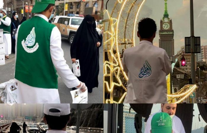 جمعية البر الخيرية بالمويه توزع 100 ألف وجبة إفطار بالحرم في رمضان
